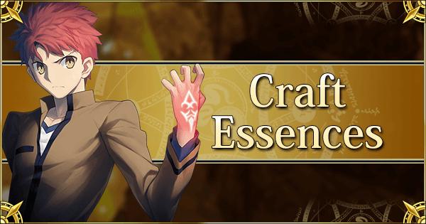 Craft Essences | Fate Grand Order Wiki - GamePress