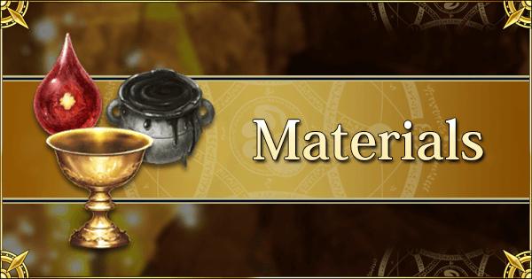 Materials | Fate Grand Order Wiki - GamePress