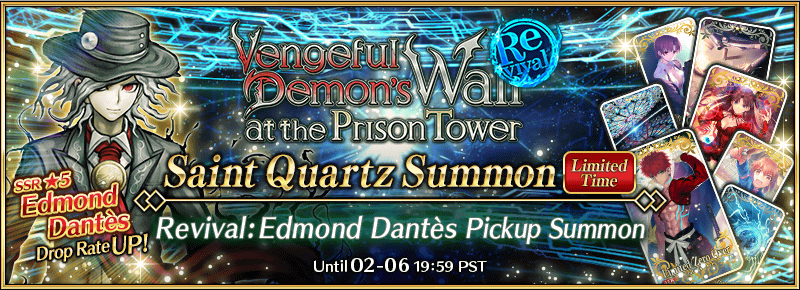 Edmond Dantes Revival Summon