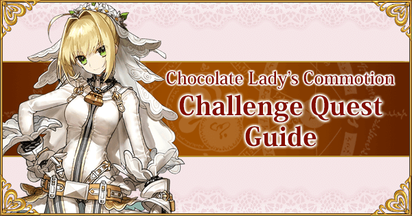 Chocolate Lady Commotion Challenge Quest Guide