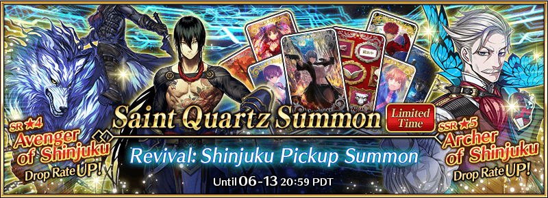 Revival: Shinjuku Pickup Summon