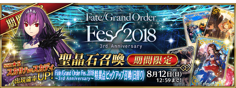 Fate/Grand Order Fes. 2020 -3rd Anniversary-