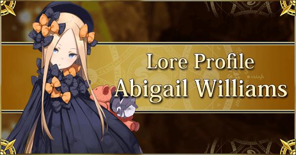 Lore Profile - Abigail Williams