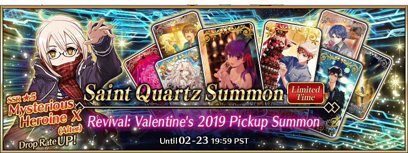 Revival: Valentine's 2019 Pickup Summon