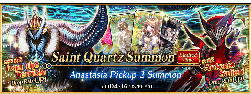 Lostbelt No.1 Anastasia Pickup Summon 2