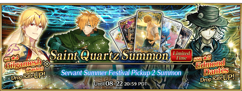 Servant Summer Festival Pickup 2 Summon