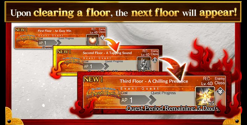 Setsubun Floor Quests