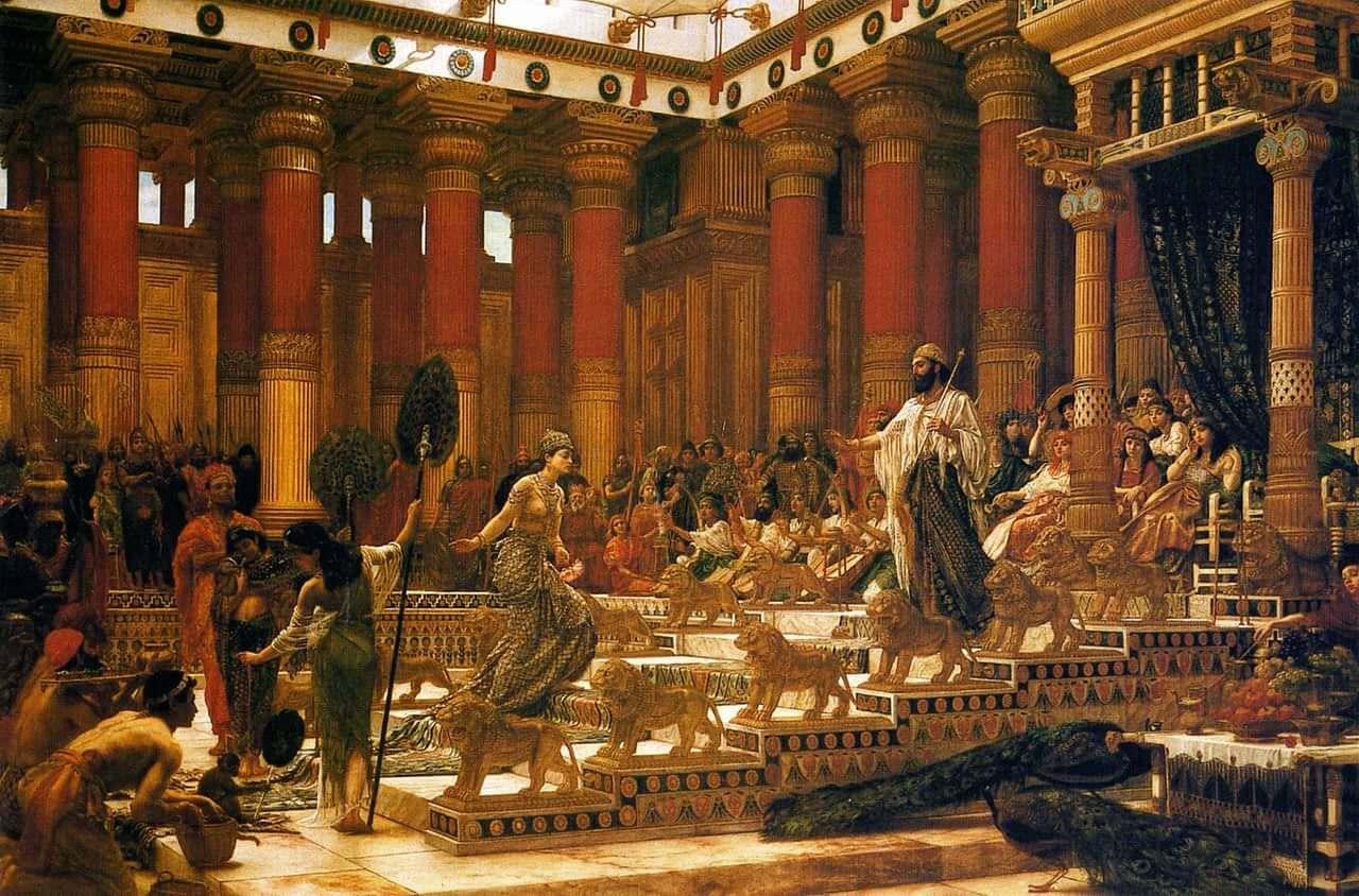 Sheba Visits Solomon