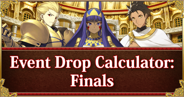 Return of Nero Fest 2018 Event Calculator: Finals