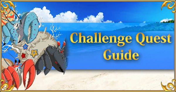 Challenge Quest Banner Summer 2018 Part 1