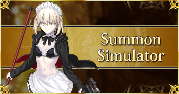 Summon Simulator FGO 2019 Summer Part 2