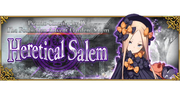 Pseudo-Singularity IV: The Forbidden Advent Garden, Heretical Salem