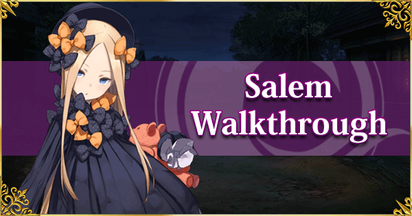 Salem - Spoiler-free Walkthrough