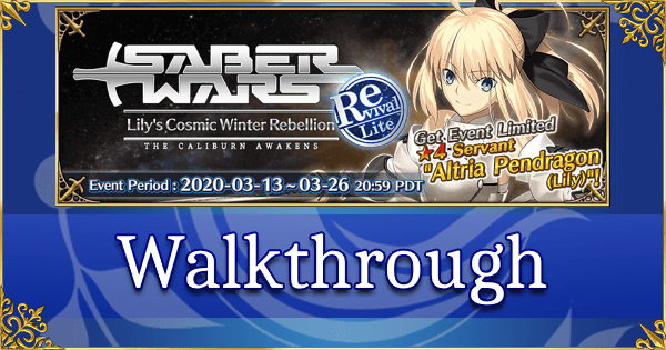 Revival: Saber Wars - Quick Walkthrough
