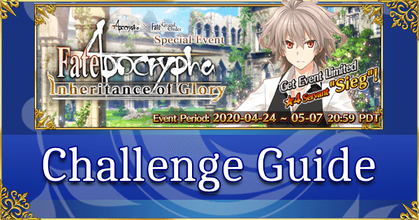 Fate Apocrypha Challenge Guide - Colorless Faction (Amakusa Shirou)