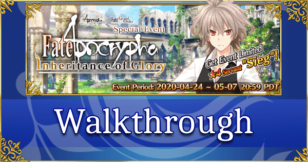 Fate Apocrypha Inheritance of Glory - Walkthrough