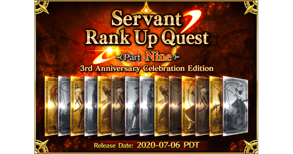 Servant Rank Up Quests Part 9