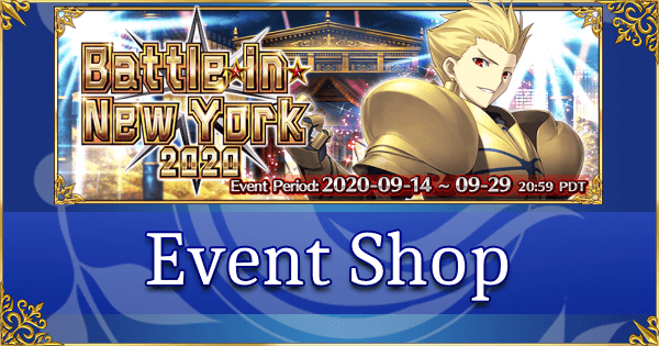 Battle in New York 2020 - Event Shop & Planner