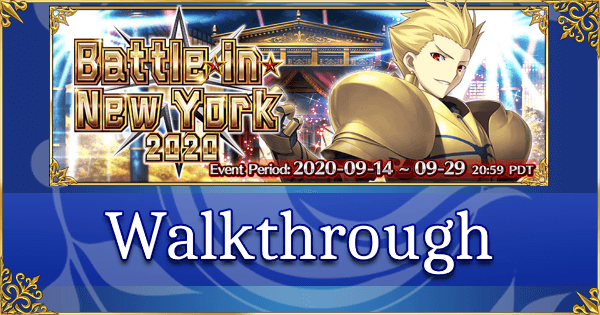 Battle in New York 2020 - Walkthrough