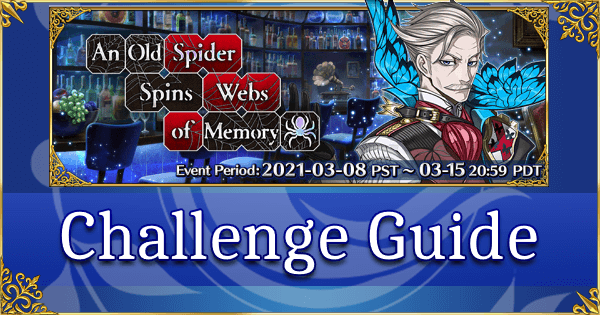 Chaldea Boys Collection 2021 - Challenge Guide - Reichenbach's Rematch (Holmes)