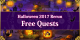Halloween 2017 Rerun - Free Quests