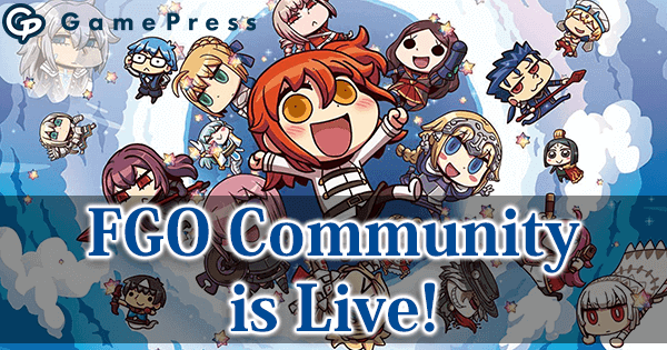 Fate/Grand Order GamePress Community & Discord