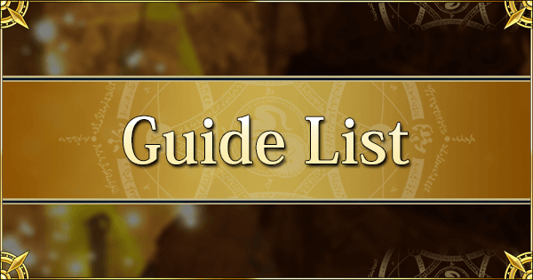 Guide List