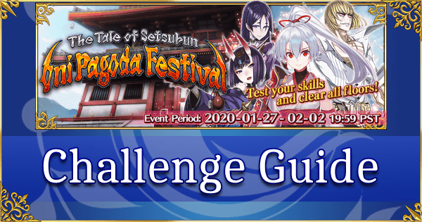 Setsubun Challenge Quest Guide - Arcade at the Hot Springs Inn (Archer of Inferno)