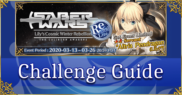 Revival: Saber Wars Challenge Quest Guide - Altrium Hunter (Lu Bu, Medjed & co)