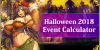 Halloween 2018 - Event Calculator
