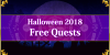 Halloween 2018 - Free Quests