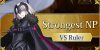Strongest NP Against Rulers