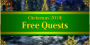 Christmas 2018 Free Quests