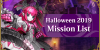 Halloween 2019 Mission List Banner