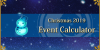 Christmas 2019 - Event Calculator