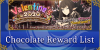 Valentine's 2020 - Chocolate Reward List