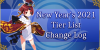 New Year's 2021 - Tier List Change Log