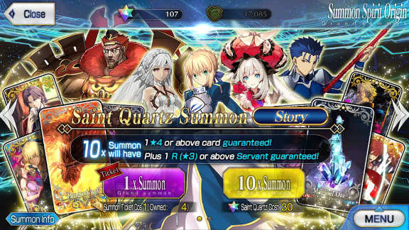 Summon Simulator | Fate Grand Order Wiki - GamePress