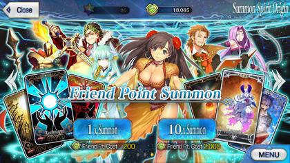 Friend Points Summon Simulator | Fate Grand Order Wiki