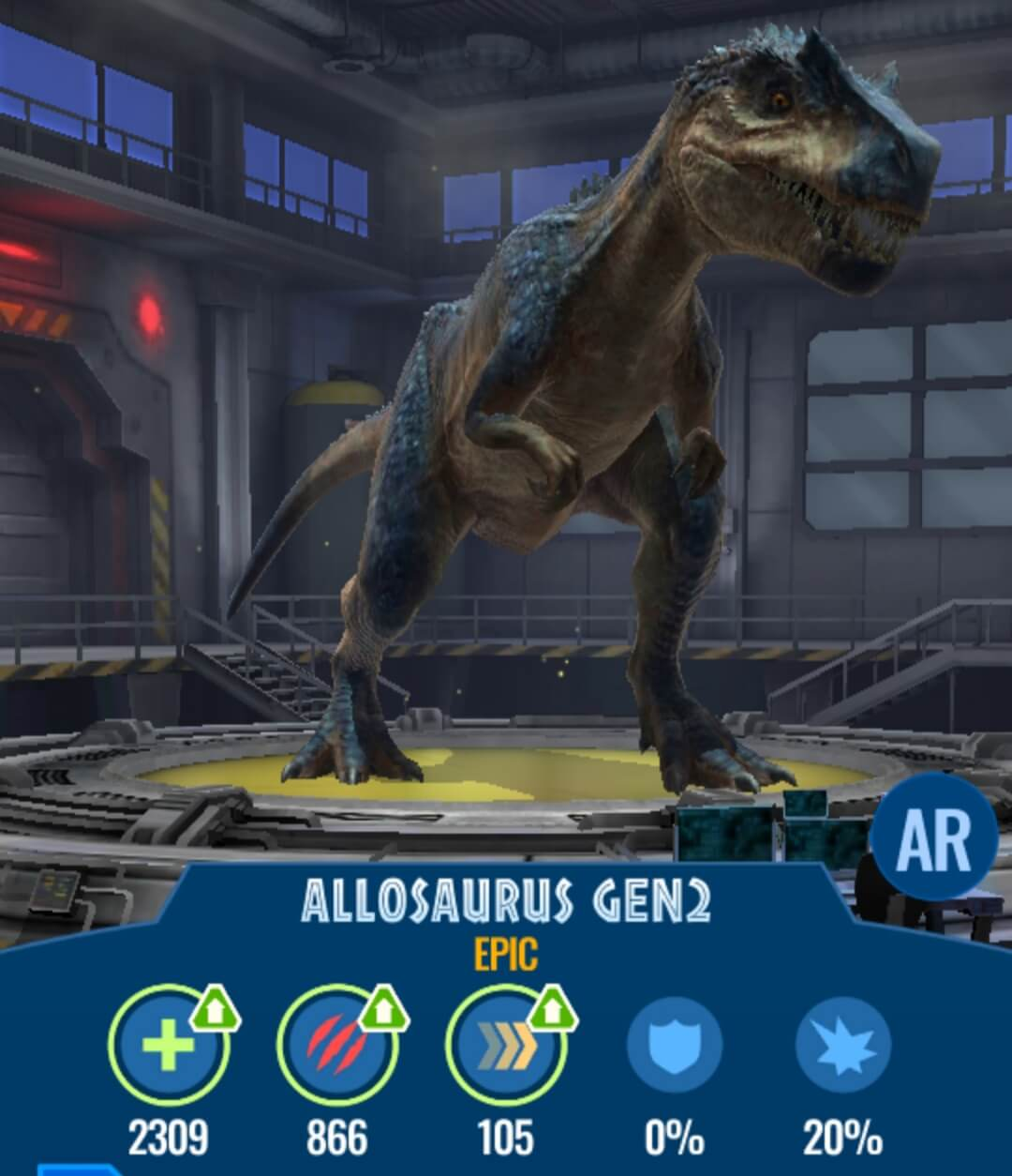 New Dinos Released in the Wild! Allosaurus Gen2 and