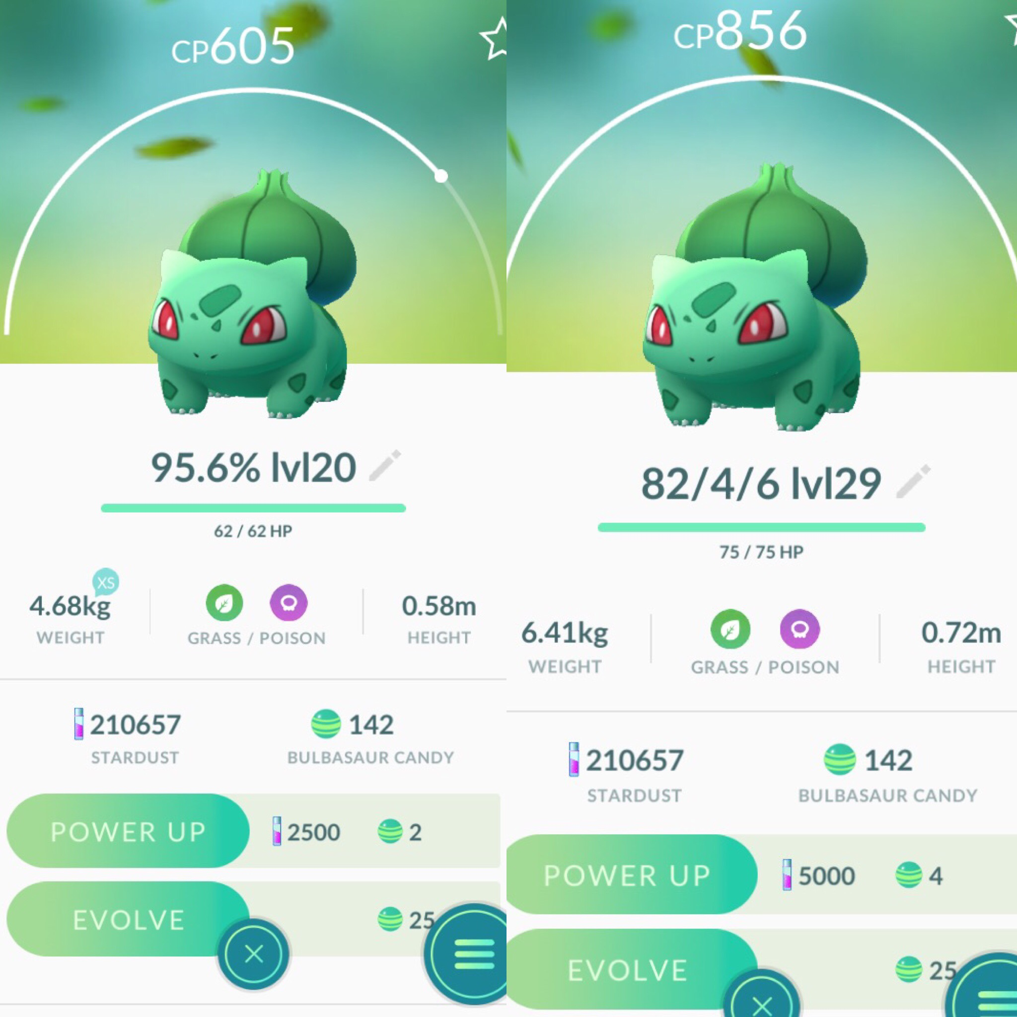 What level does Bulbasaur have to be before evolving?