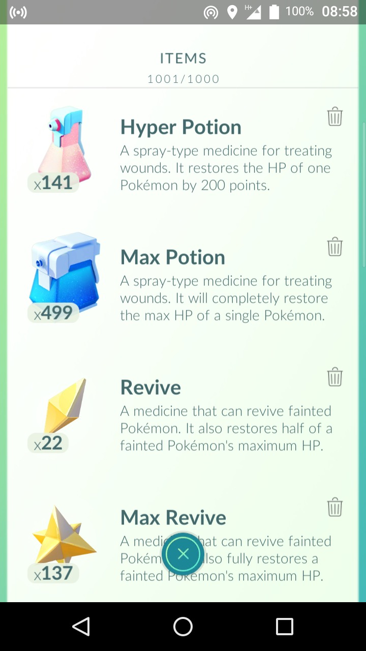 What Is Max Potion Good For Pokemon Go Wiki Gamepress