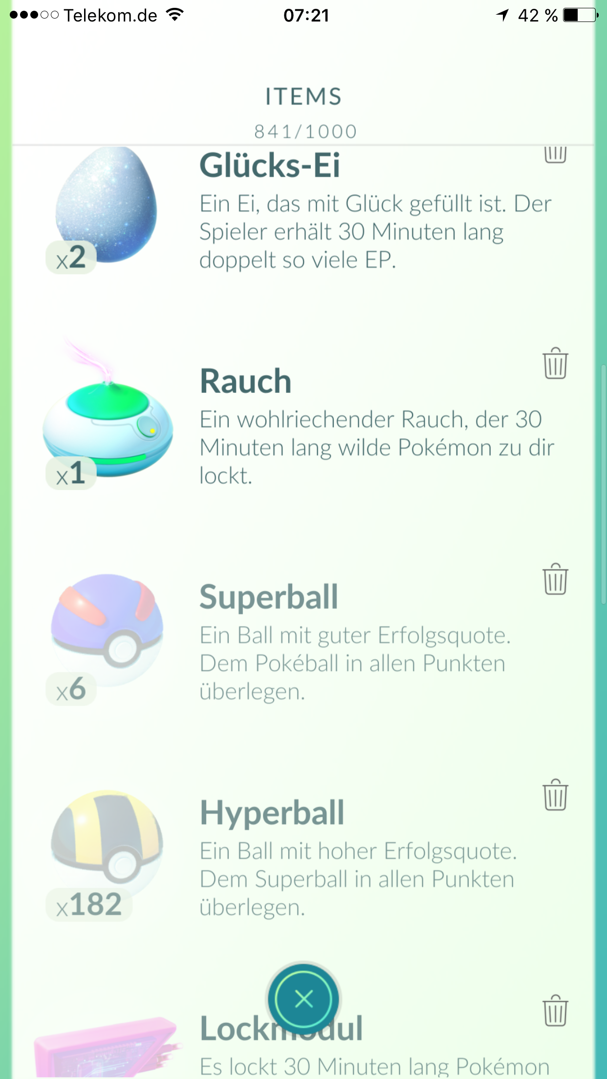 how to use potions in pokemon go