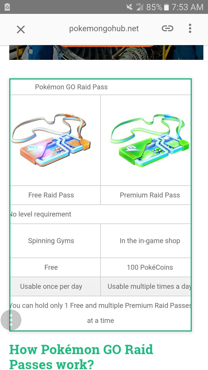 Premium Raid Pass = rip off | Pokemon GO Wiki - GamePress