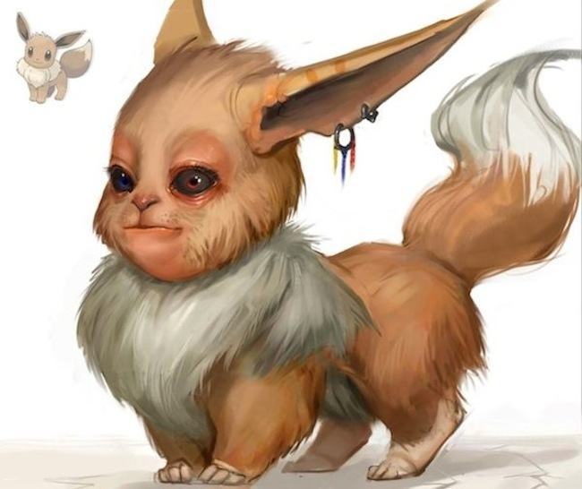Which are eevee's pupils in this picture | Pokemon GO Wiki - GamePress