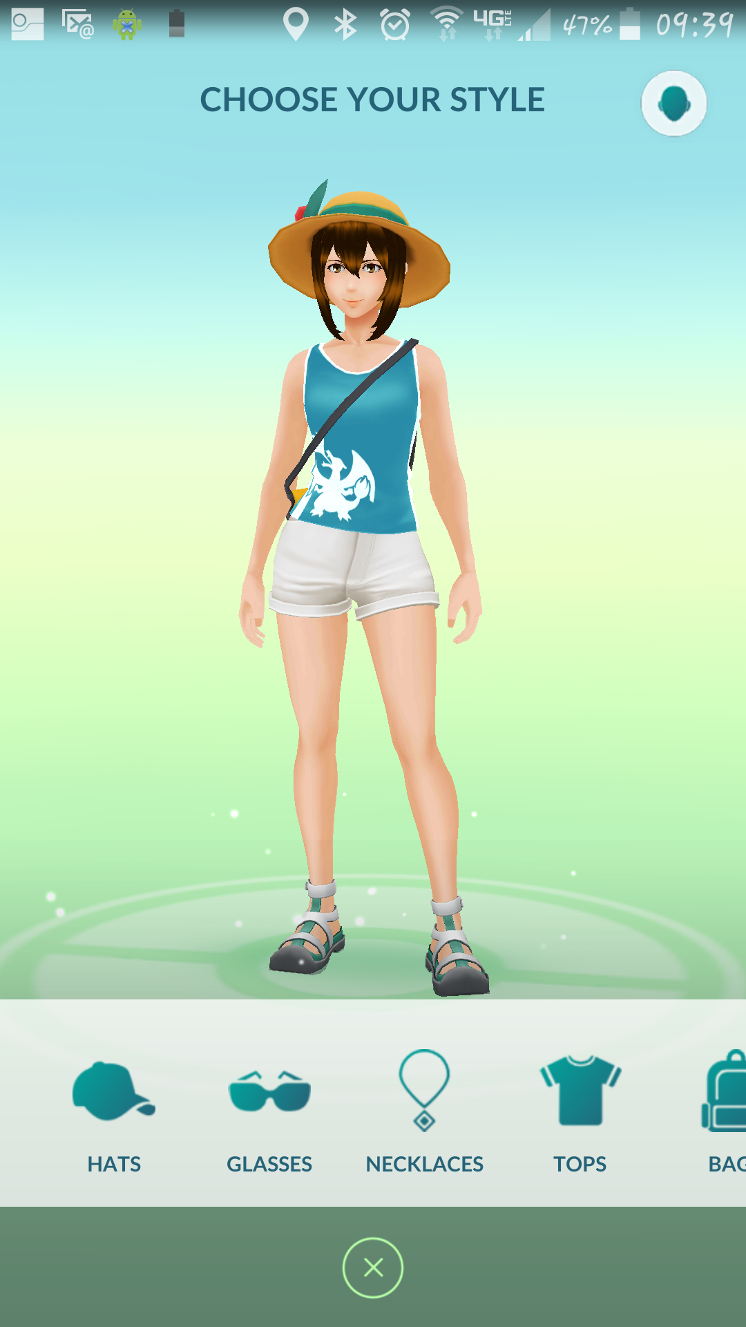 is your avatar wearing the new free outfit yet pokemon go gamepress