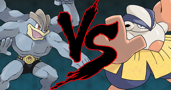 Comparison - Machamp and Hariyama