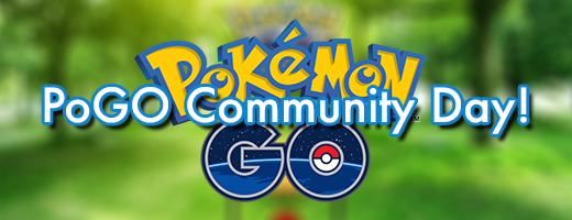 Upcoming PoGO Community Day