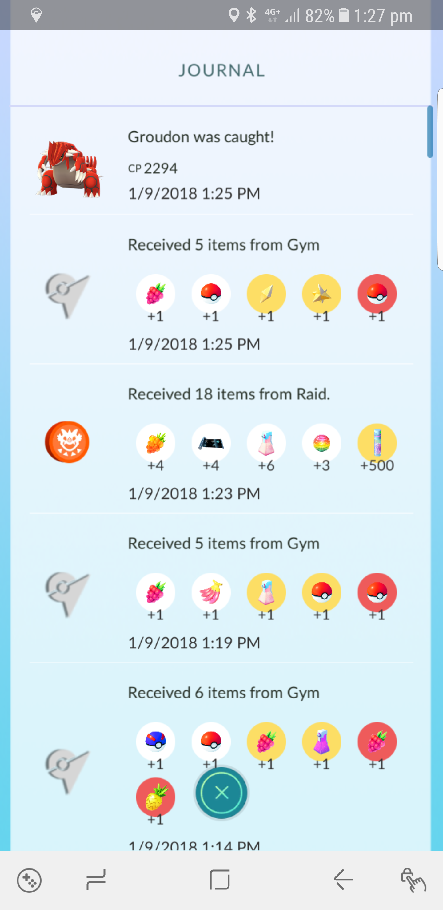 I got 4 fast TM from a groudon raid | Pokemon GO Wiki