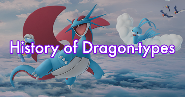 History of Dragon Types